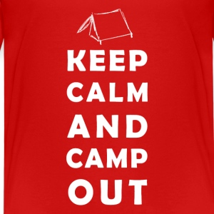 keep calm camping Shirts - Teenager Premium T-shirt