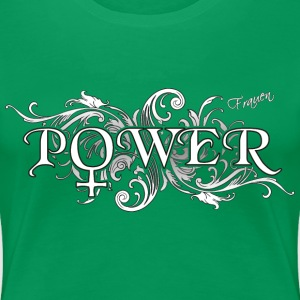 Frauenpower mit Symbol T-Shirts - Frauen Premium T-Shirt
