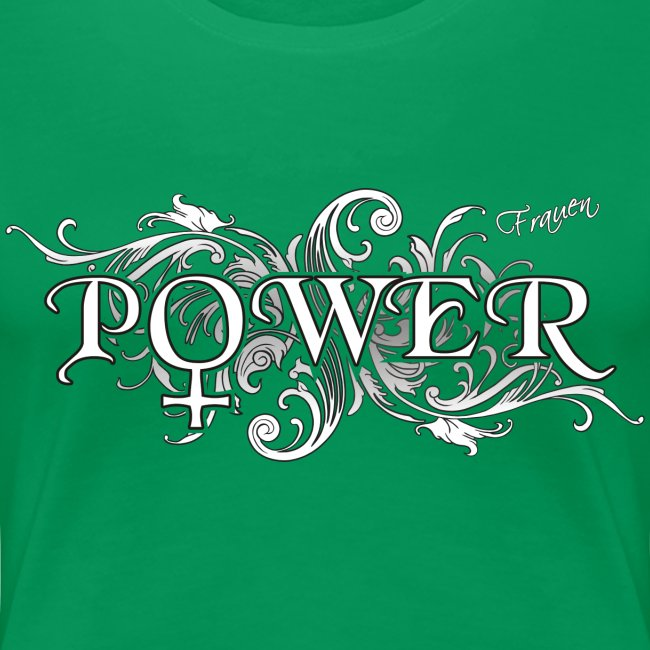 Frauen Power Symbol