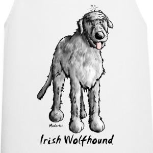 Cute Irish Wolfhound  Aprons - Cooking Apron