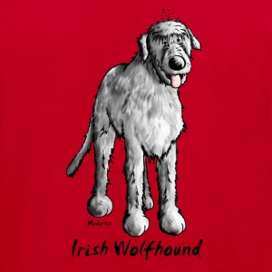 Cute Irish Wolfhound Shirts - Kids' Organic T-shirt