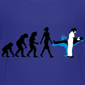 evolution_zahnaerztin_012015_a_3c T-Shirts - Teenager Premium T-Shirt