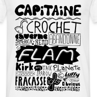 Motif ~ T-shirt Capitaine Homme