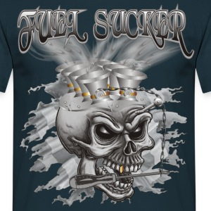 Fuel Sucker Racing Skull T-Shirts - Männer T-Shirt
