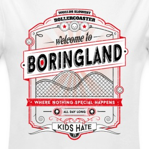 Welcome to Boringland Pullover & Hoodies - Baby Bio-Langarm-Body