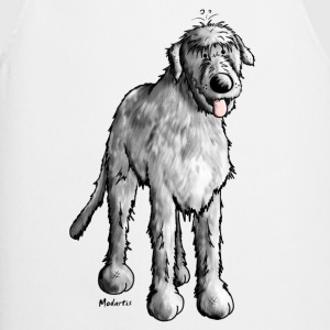 Happy Irish Wolfhound  Aprons - Cooking Apron