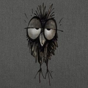 Funny Sleepy Owl