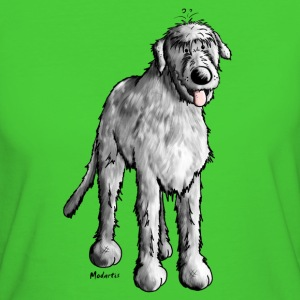 Happy Irish Wolfhound T-Shirts - Women's Organic T-shirt