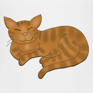 Cat Brown tabby Shirts - Kids' Premium T-Shirt