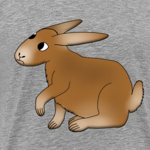 funny Bunny T-shirts - Mannen Premium T-shirt