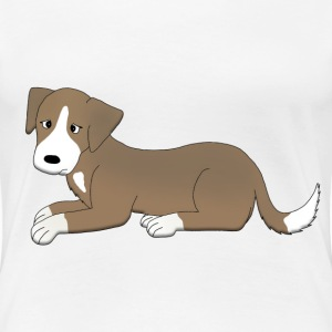 sad dog T-Shirts - Women's Premium T-Shirt