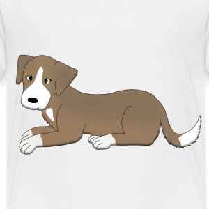 sad dog T-shirts - Premium-T-shirt barn