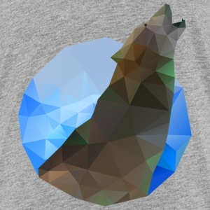 Polygon Wolf Shirts - Teenager Premium T-shirt