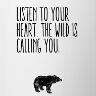 Motiv ~ Tasse – LISTEN TO YOUR HEART
