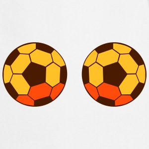 two soccer balls  Aprons - Cooking Apron