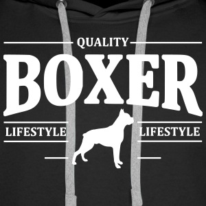 Boxer Sweat-shirts - Sweat-shirt à capuche Premium pour hommes