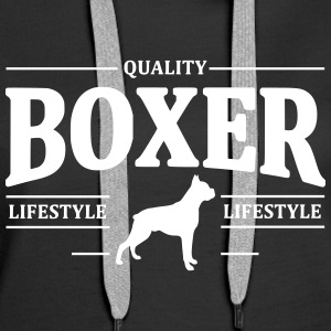 Boxer Sweat-shirts - Sweat-shirt à capuche Premium pour femmes
