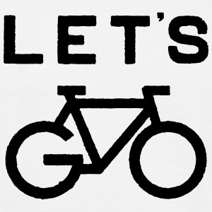 Let's Go Cycle T-Shirts - Men's T-Shirt
