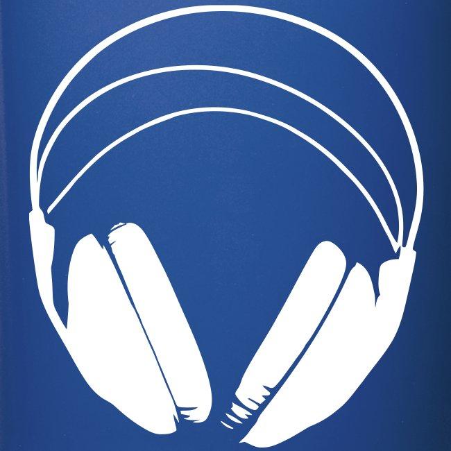 Tasse bleue podradio - Droite
