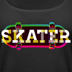 Skater Tops - Women's Premium Tank Top