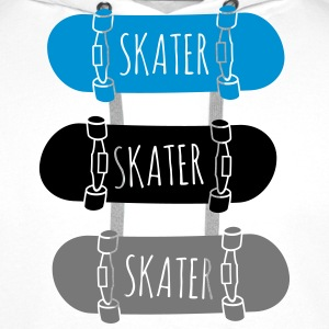 Skater Skateboards patineur skateboards Sweat-shirts - Sweat-shirt à capuche Premium pour hommes