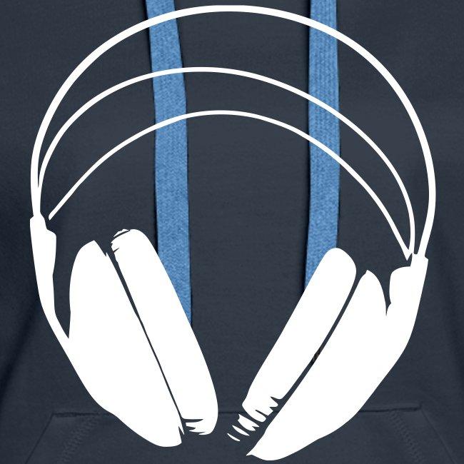 Hoodie logo podradio - Femme