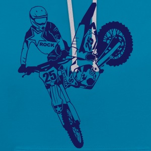 Moto Cross - motocross   Sweat-shirts - Sweat-shirt contraste