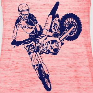 Moto Cross - Suzuki  - Desalle Tops - Frauen Tank Top von Bella