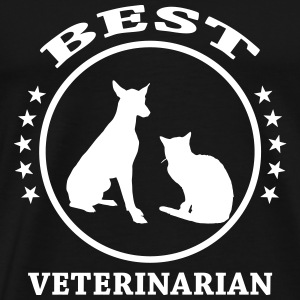 Best Veterinarian T-Shirts - Men's Premium T-Shirt