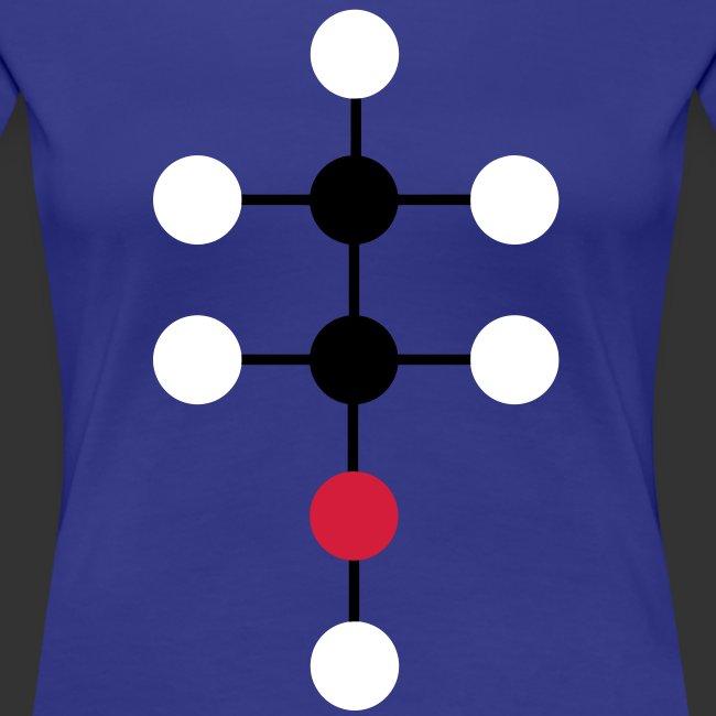 Alcool molecule - femme