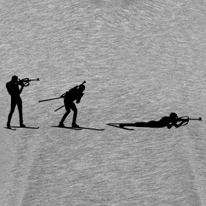 Biathlon three positions T-Shirts - Men's Premium T-Shirt