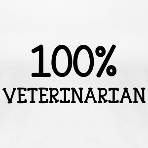 100% Veterinarian T-Shirts - Frauen Premium T-Shirt