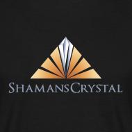 Design ~ Mens Shamans Crystal Logo T Shirt