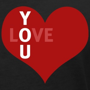 love you.png Tee shirts - T-shirt col V Femme