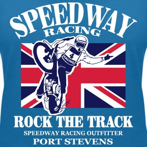 UK - Speedway  T-Shirts - Women's V-Neck T-Shirt