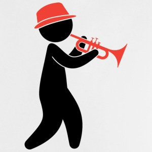 A jazz musician plays the trumpet Shirts - Baby T-Shirt