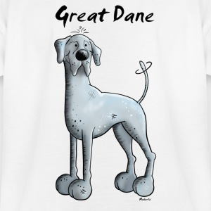 Funny Great Dane  Shirts - Teenage T-shirt