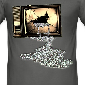 Kill your TV - Men's Slim Fit T-Shirt