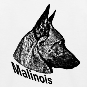 Malinois - Kinder Baseball T-Shirt