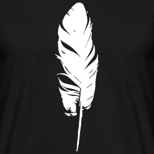 Bird Feather T-Shirts - Men's T-Shirt