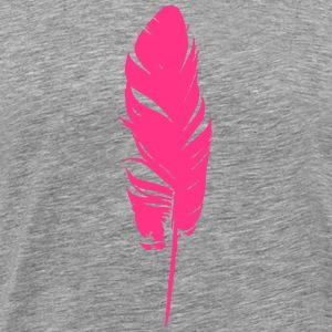 Bird Feather T-Shirts - Men's Premium T-Shirt