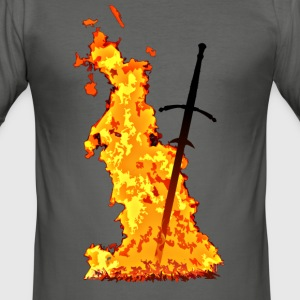 Bonfire - Men's Slim Fit T-Shirt