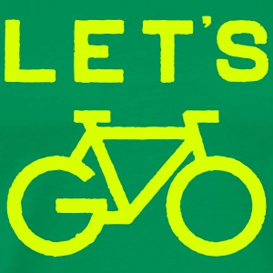 Let's Go Cycle T-Shirts - Men's Premium T-Shirt