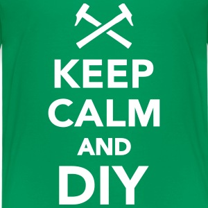 Keep calm and DIY T-Shirts - Kinder Premium T-Shirt