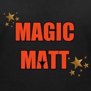 Magic Matt T-Shirts - Women's V-Neck T-Shirt
