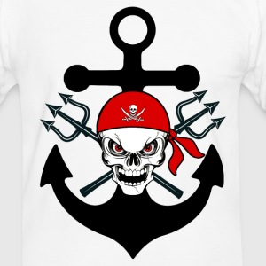pirate 02 T-Shirts - Men's Ringer Shirt