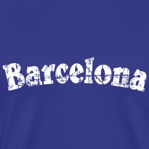 Barcelona Vintage White (FR) Tee shirts - T-shirt Premium Homme
