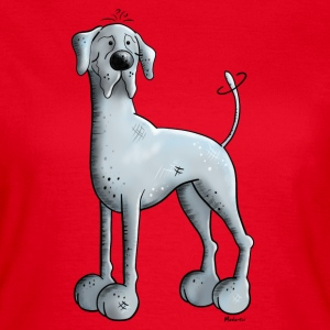 Happy Great Dane  T-Shirts - Women's T-Shirt