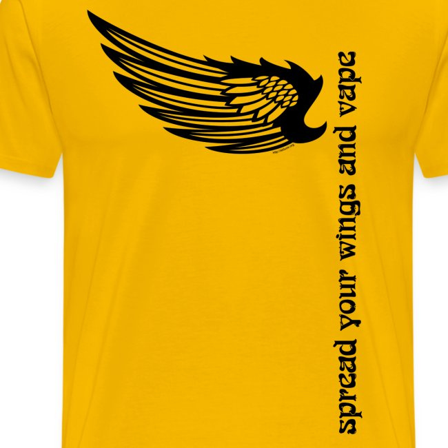 """T-Shirt """"Spread your wings and vape"""" Homme"""
