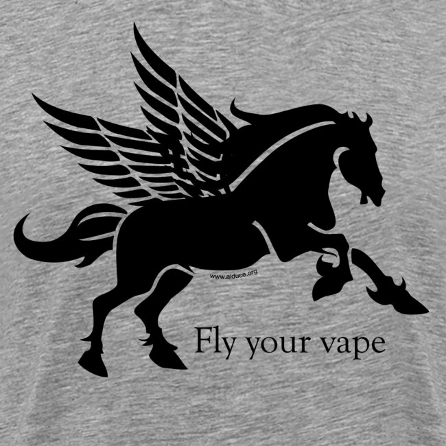 """T-Shirt """"Fly your vape"""" Homme"""